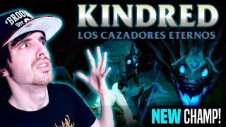 ¡NUEVO CAMPEÓN! KINDRED Y SU R ROTA ( EL CORDERO Y EL LOBO) Reacción
