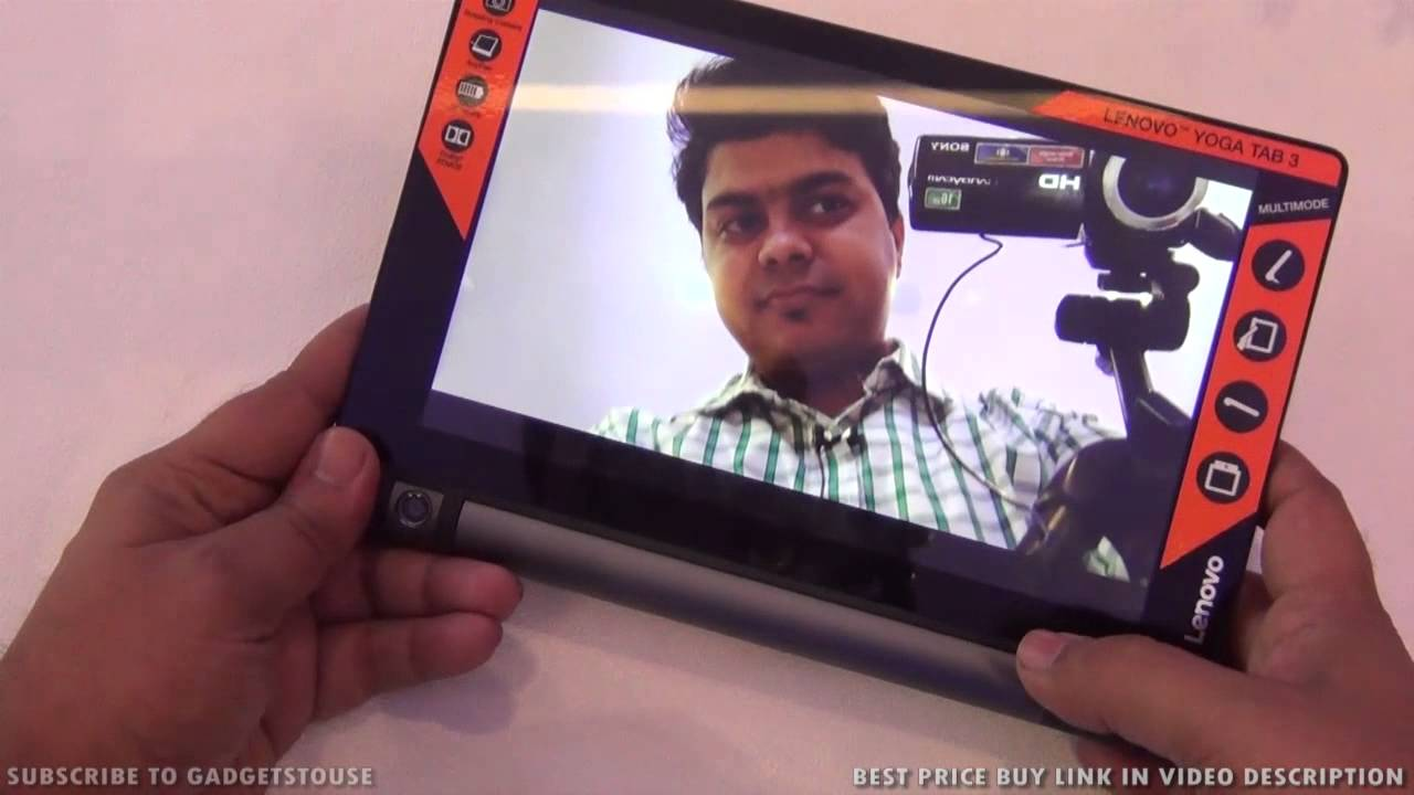 Lenovo Yoga Tab 3 Hands On Review, Features, Camera and India Price