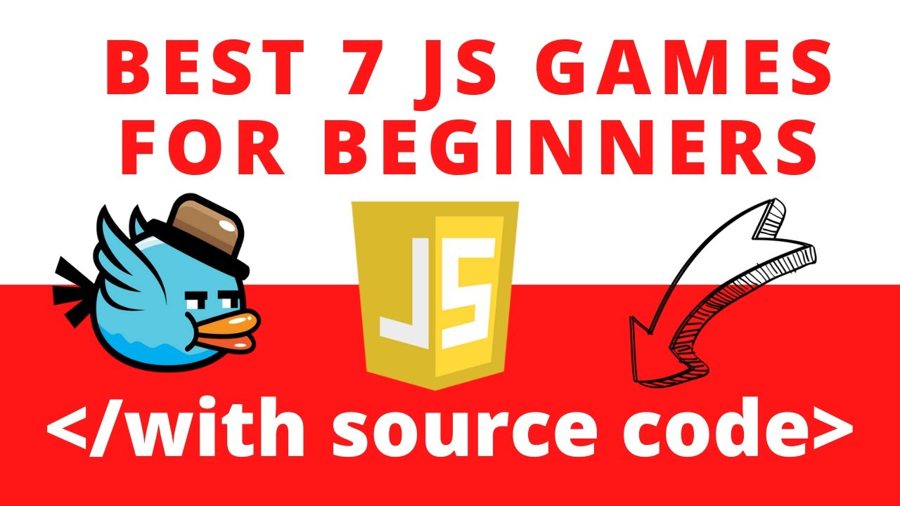 Best 7 javascript games projects examples for beginners with source code 2020