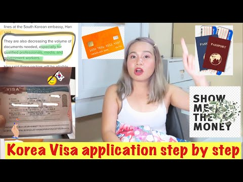 Korea Visa Application 2019 For Filipino.  Step By Step Guide