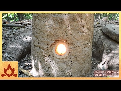 Primitive Technology: Natural Draft Furnace