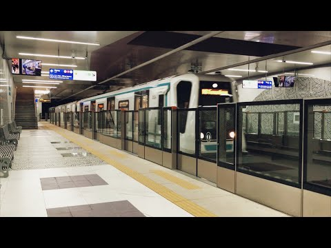 The newest metro stations of Sofia