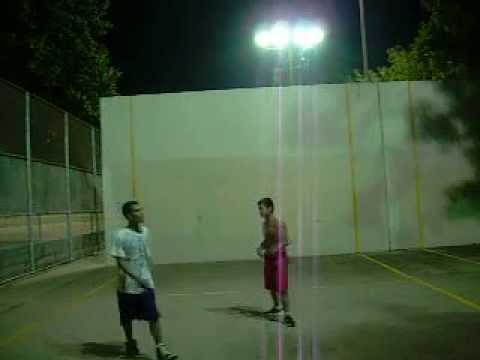 Sun September 15th 2013 Staten island berry homes night handball court singles between Avery Vs Feng