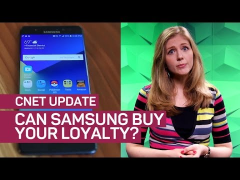 Download Note 7 fallout: Stick with Samsung, get $100 (CNET Update)