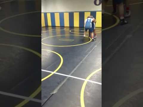 Murphysboro Middle School Wrestling girl beg in o Fallon pt.1