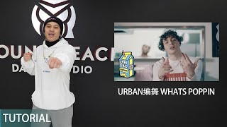 Jack Harlow - WHATS POPPIN | Urban编舞线上直播教学回放 | Young Reach Live Tutorial Playback