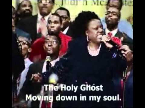 "COGIC AIM International Mass Choir sings ""The Holy Ghost"""