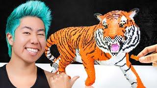 Best Lego Art Wins $5,000 Challenge! | ZHC Crafts