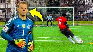 MANUEL NEUER FUßBALL CHALLENGE!!