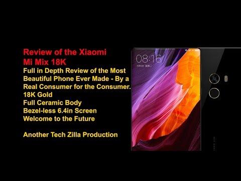 Xiaomi Mi Mix Review - The 18K Gold Version