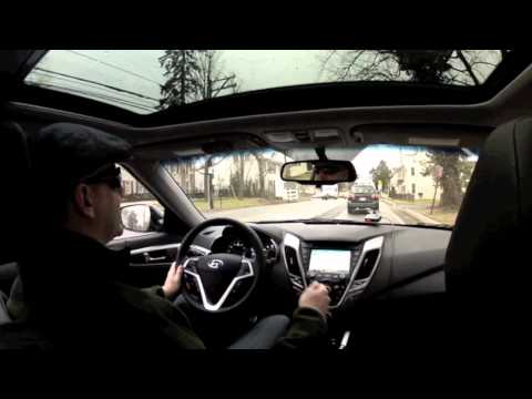 Video Review Test Drive of the 2012 Hyundai Veloster Style Tech MT