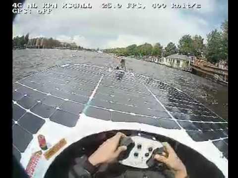 Live Stream: TU Delft Solar Boat Team - Dutch Solar Challenge