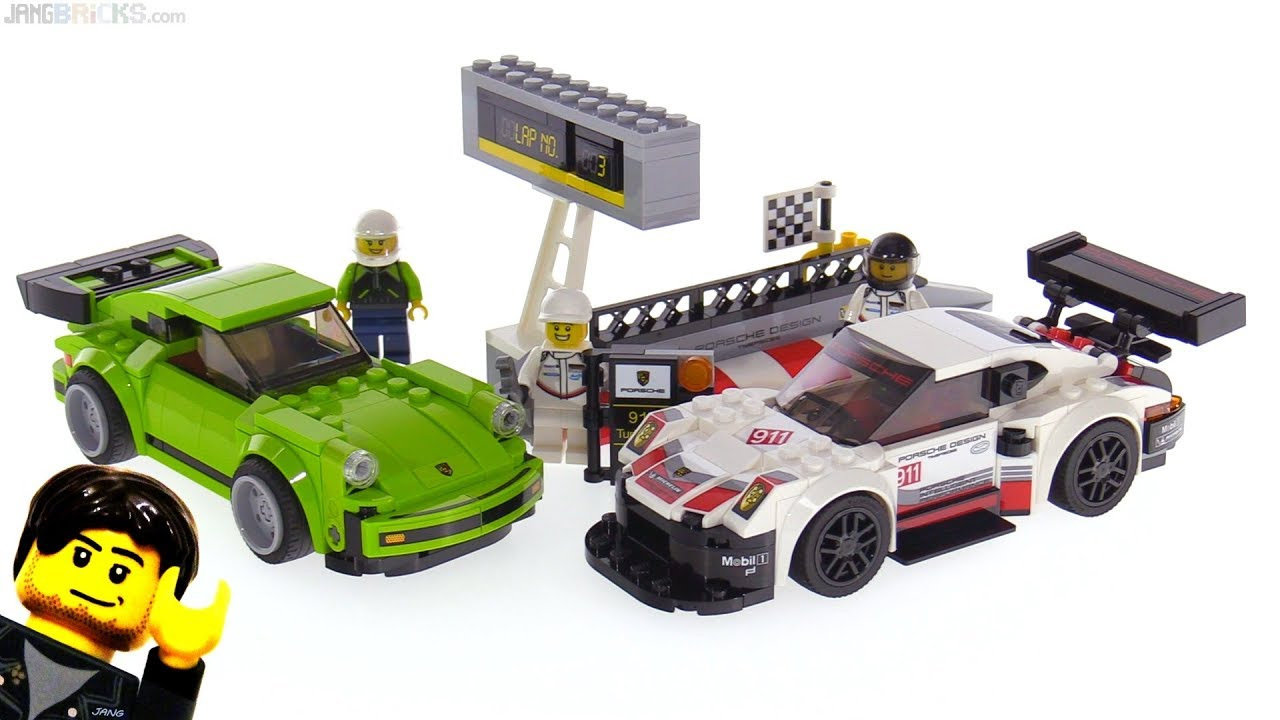 lego speed champions porsche 911 rsr turbo 3 0 review 75888 youtube. Black Bedroom Furniture Sets. Home Design Ideas