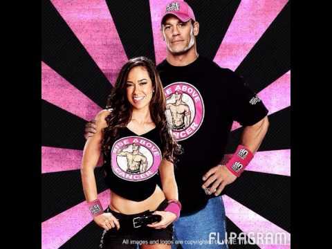 Wwe Aj Lee and John Cena