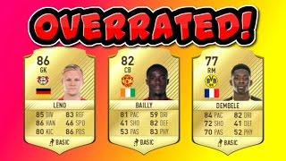 Top 5 Most Overrated Players On Fifa 17!