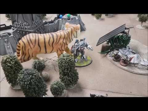 Warhammer 40K Battle Report - Three Player Monster Hunt - Ne