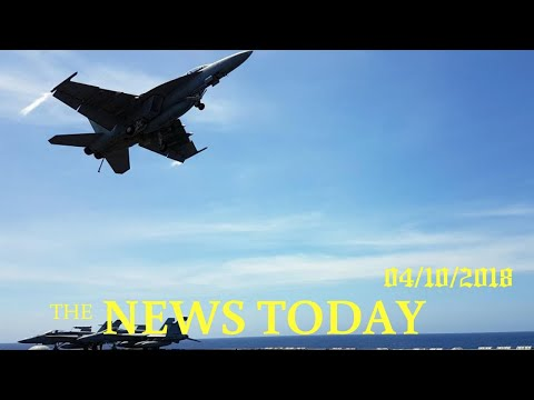 After China's Massive Drill, U.S. Patrols Disputed South China Sea | News Today | 04/10/2018 | ...