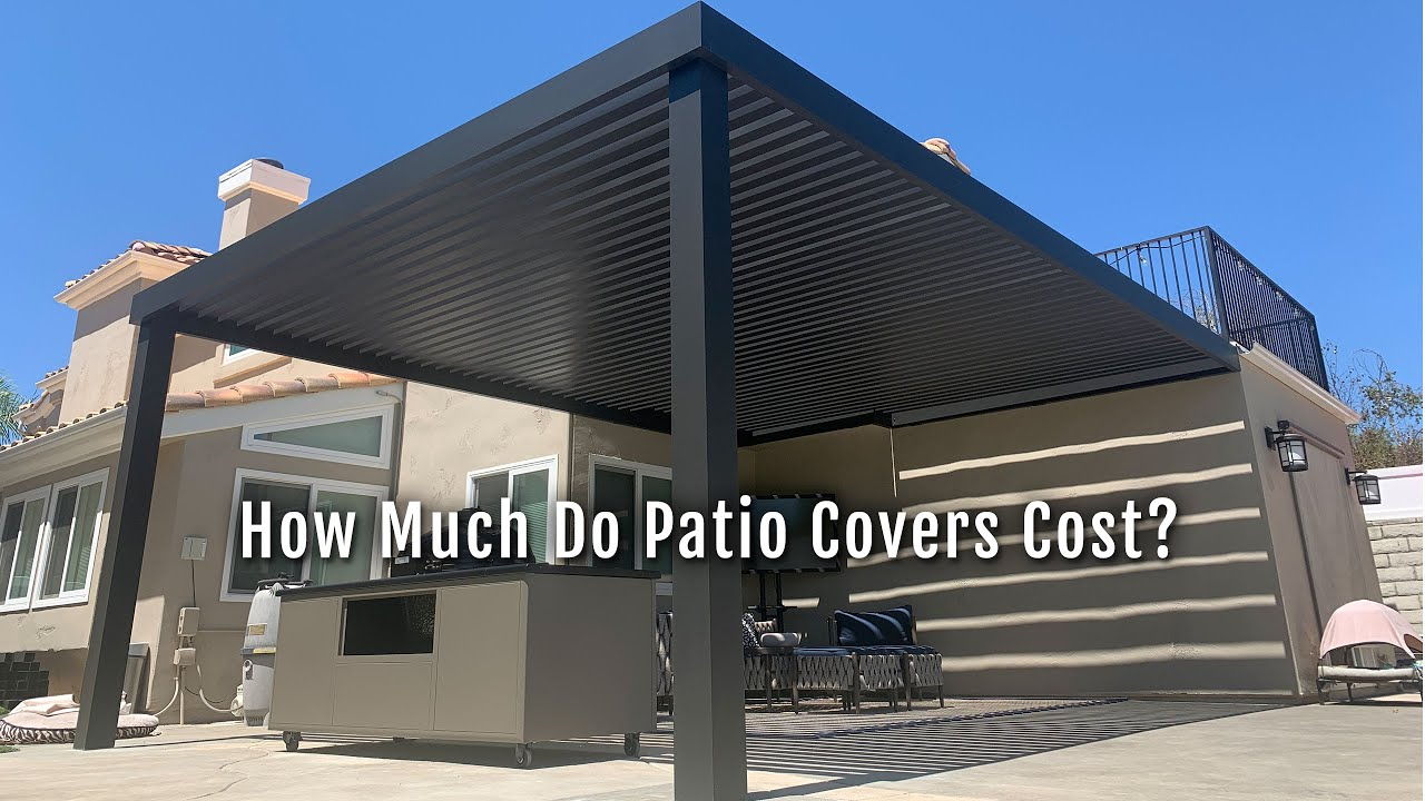 how much do patio covers cost patio
