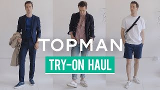 My 12 Favorite Topman Pieces | Spring Try-On Haul | Outfit Inspiration