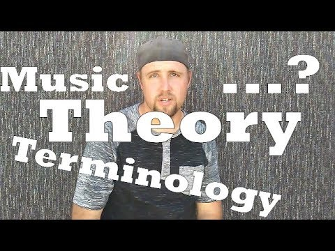 Music Theory : A Crash Course In  Music Theory Terms. Conrad Craft