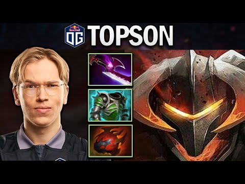 OG.TOPSON CHAOS KNIGHT - SUPER TANK - DOTA 2 7.24 GAMEPLAY