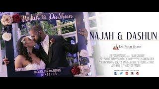 Najah and DaShun Wedding Highlight at The Madison Hotel in  Morristown, NJ