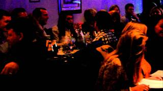 Undaal Indian Restaurant Brentwood - live singing by Wills Childs (Billy) 4