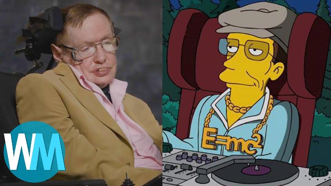 Top 10 Unforgettable Stephen Hawking Cameos in Pop Culture