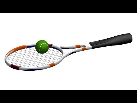 Tennis Racket Surface Design Catia V5