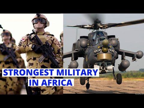 Top 10 Strongest Militaries in Africa 2021
