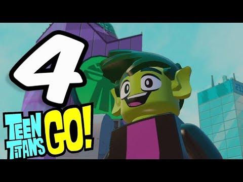 Lego Dimensions: Teen Titans Go! World Part 4 Beast Boy vs Starfire The Terrible!