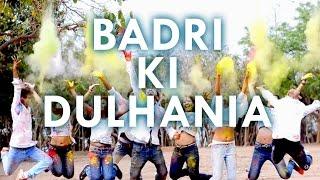 Badri Ki Dulhania|Bollywood Dance| LEAPS ON BEATS DANCE STUDIO |Holi Special|Badrinath Ki Dulhania