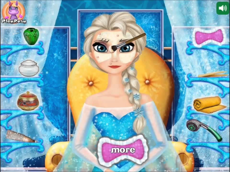Elsa Real Makeover Game For Little Girls Frozen Games Make Up You