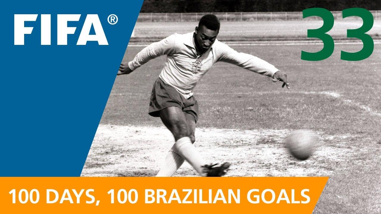 100 Great Brazilian Goals: #33 Pele (Sweden 1958)