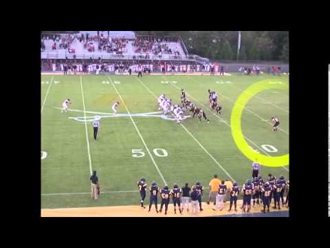Michael Anderson Senior Football Highlights