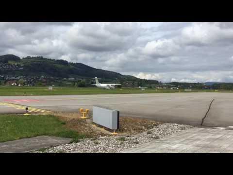 Take Off at Berne International Airport