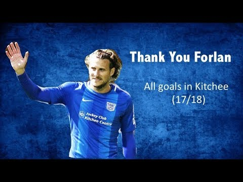 Diego Forlan 科蘭 - All 6 goals for Kitchee 傑志 17-18