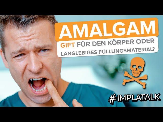 Amalgam und Quecksilber - Gift für den Körper oder langlebiges Füllungsmaterial? Alle Fakten! ✅