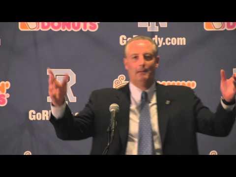 Jim Fleming Introduced As Rhode Island Football Head Coach