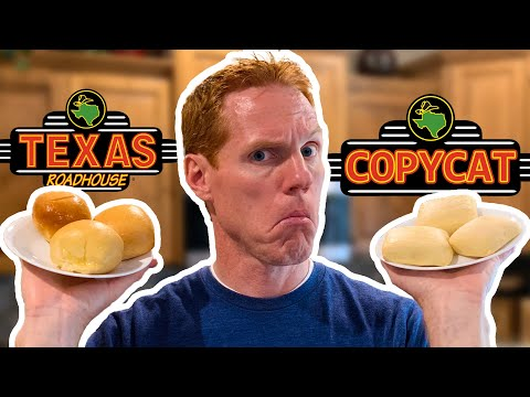 Are Copycat Recipes as Good as the Real Thing?? | Texas Roadhouse Rolls