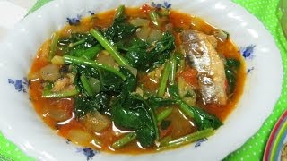 """""""Sardines with Spinach"""""""