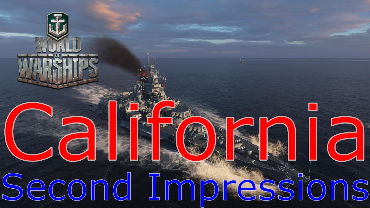World of Warships- California Second Impressions