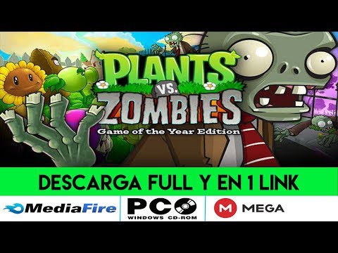 DESCARGAR PLANTAS VS ZOMBIES GOTY FULL // PC ESPAÑOL [1 LINK] [MEGA Y MEDIAFIRE]