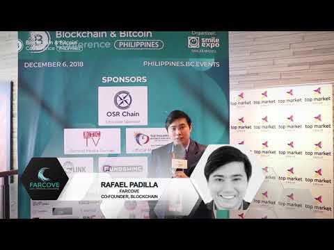 Rafael Padilla - Co-Founder - Farcove at Blockchain & Bitcoin Conference,Philippines