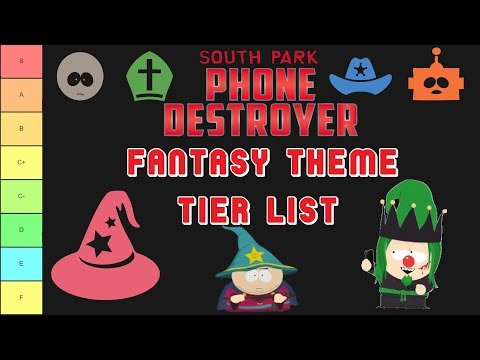 SPPD Fantasy Theme Tier List