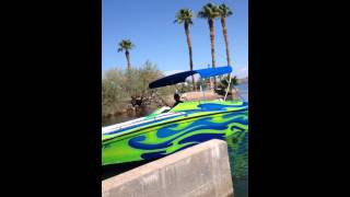 Boat crash lake Havasu