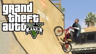 GTA V | 100% Au BMX | Tricks & Fails !