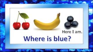 "The Color Blue for Children / ""Where is Blue?"" / Bubbly Vee"