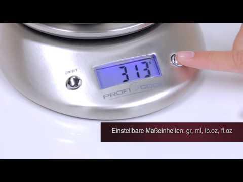 Дигитална кухненска везна PROFICOOK PC-KW 1040