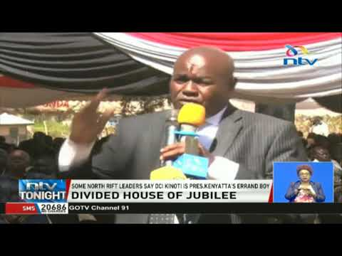North Rift leaders: DCI Kinoti is President Kenyatta's errand boy